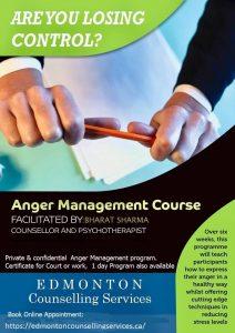 Anger Management Edmonton